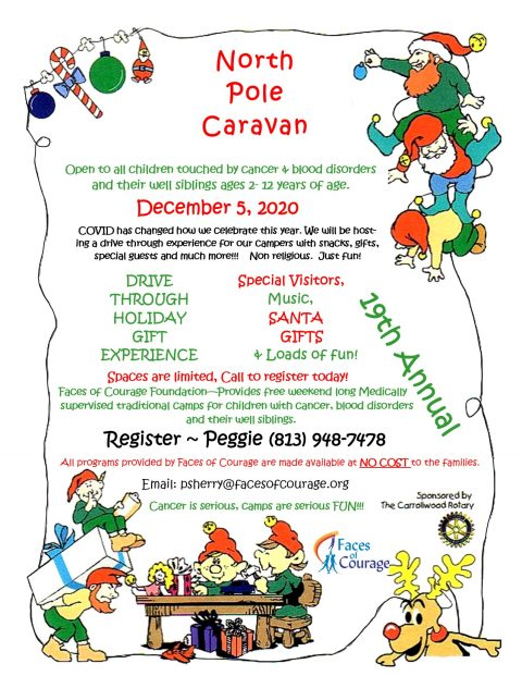 North Pole Caravan for Faces of Courage