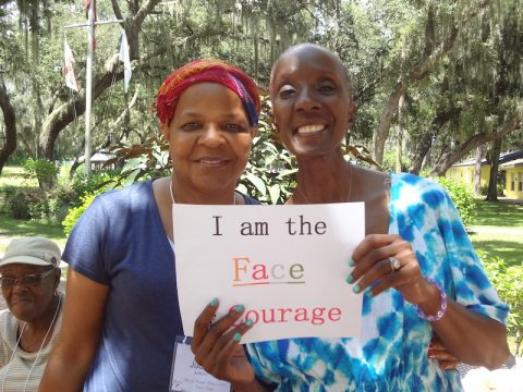 two-women-at-women-of-color-cancer-camp
