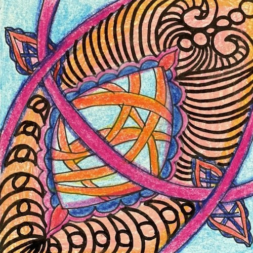 flower of life zentangle class