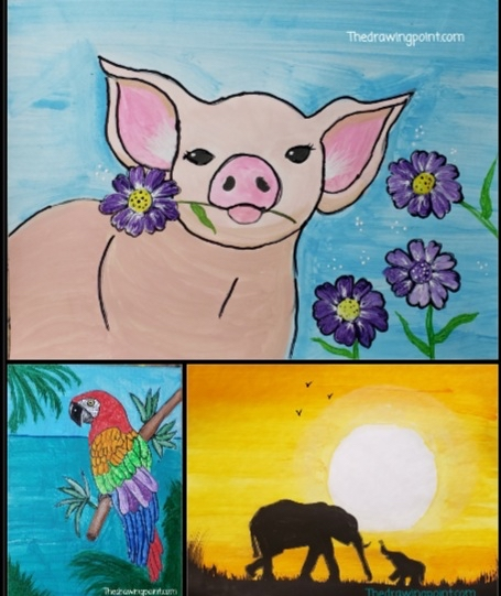 Sweet Pig Art Project FOC